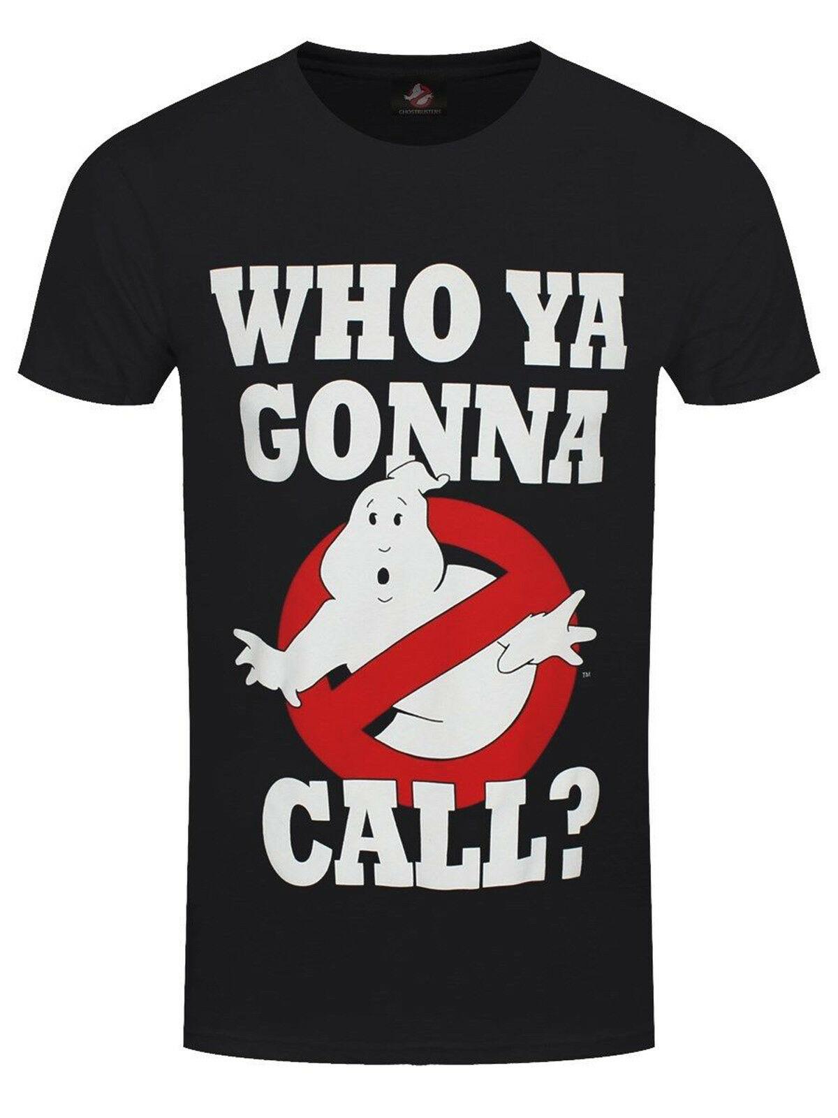 Ghostbusters Bill Murray Dan Aykroyd Official Tee T-Shirt Mens Unisex