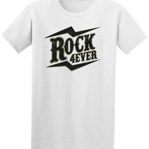 Rock 4Ever Music Men's Tee -Image by Shutterstock