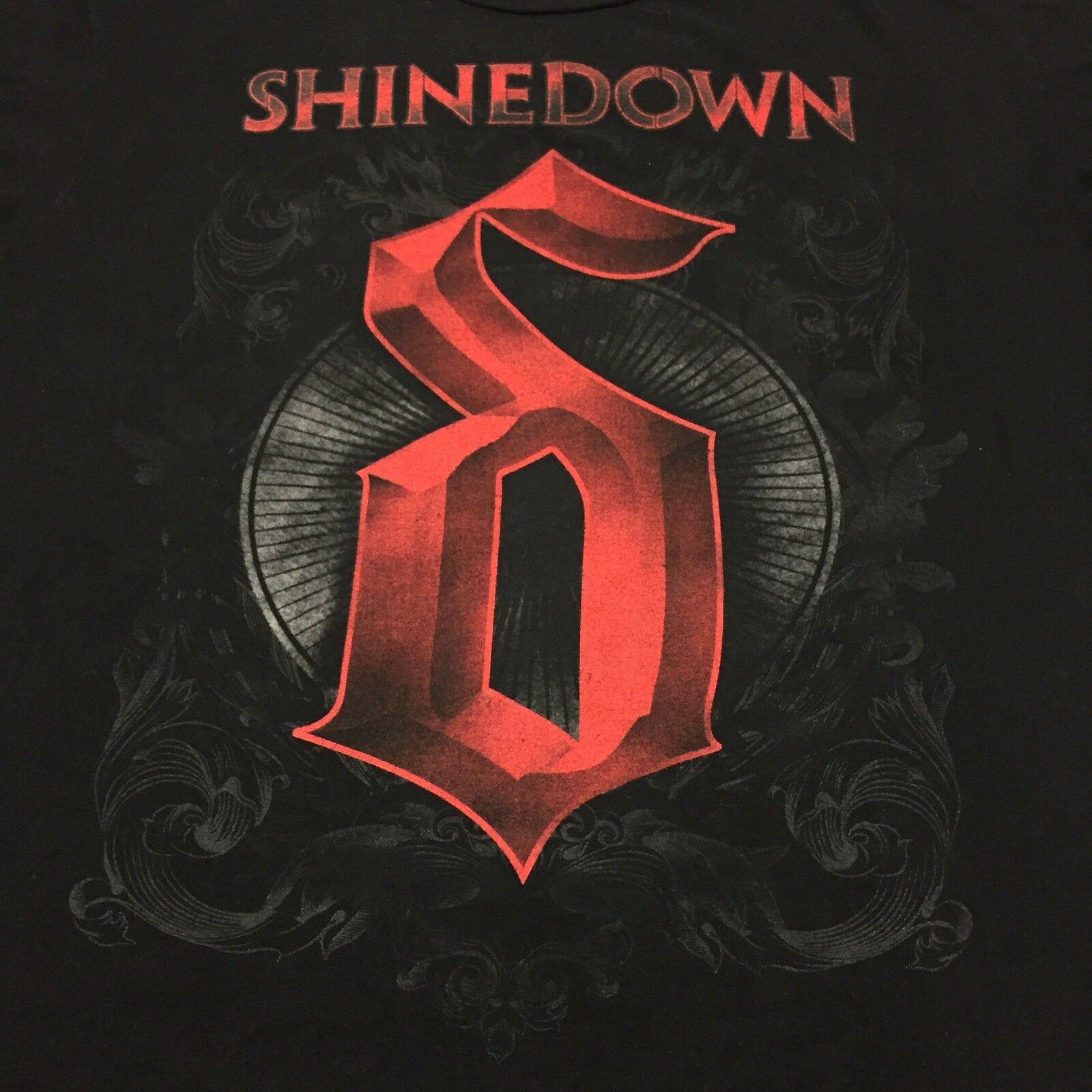 Shinedown Cut The Chord officiel Homme nouveau Noir T Shirt