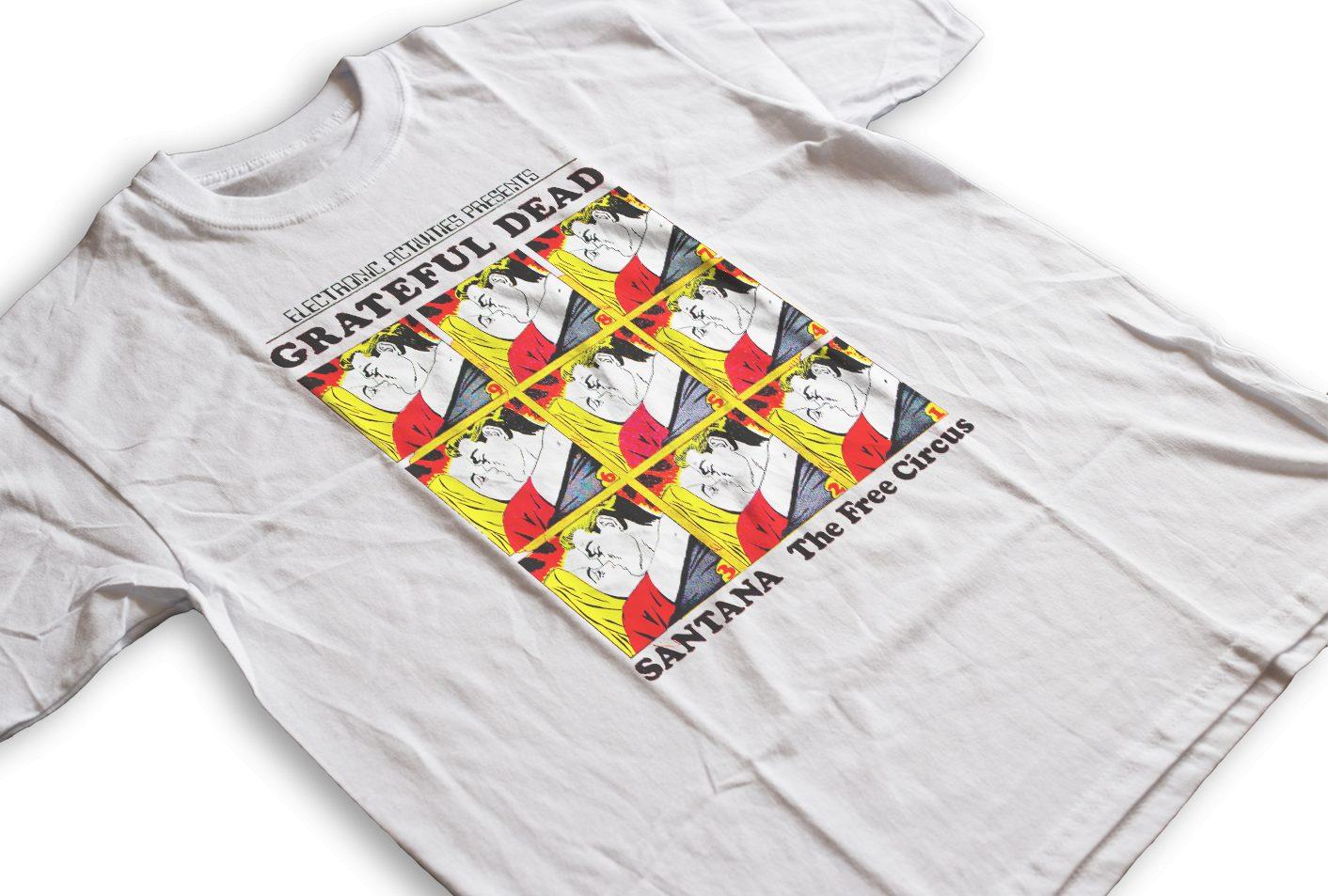 John Mayer | Grateful Dead Santana & The Free Circus | T-shirt