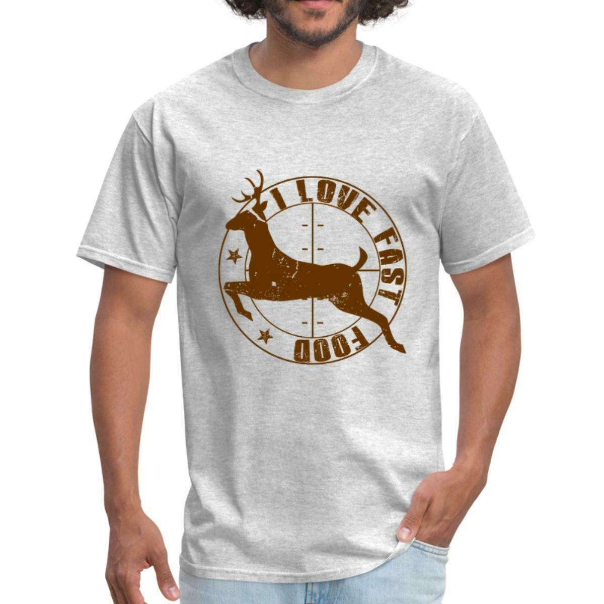 Funny Hunting Quotes Humor Deer Fast Food Men S T Shirt Xetsy