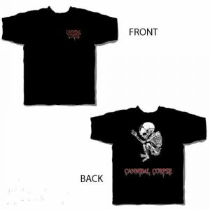 Cannibal Corpse Fetus Logo T-Shirt Black Medium Death Metal Rock New