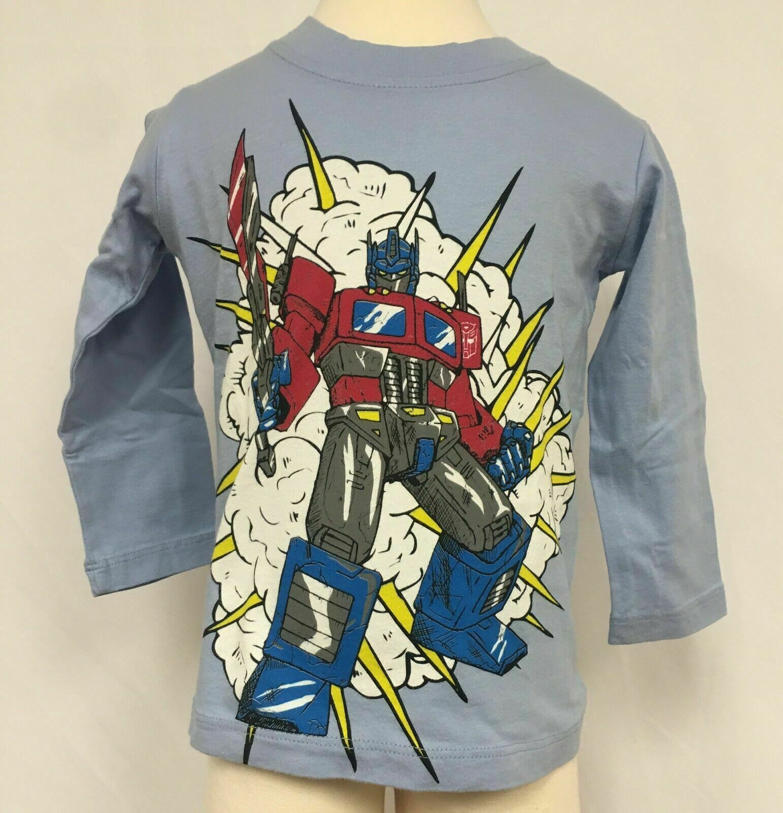 Transformers Optimus Prime Youth Long Sleeve T Shirt