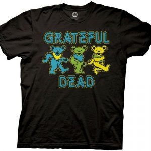 Grateful Dead Dancing Bears Licensed Adult T Shirt