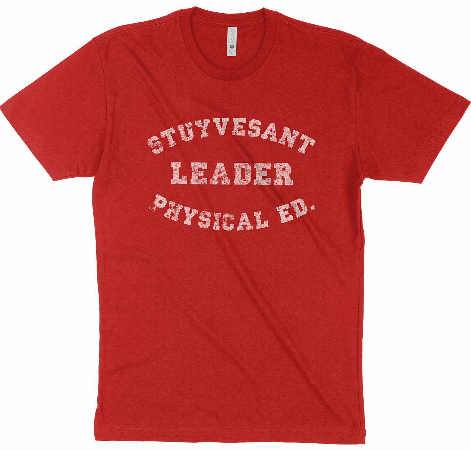 STUYVESANT LEADER PE retro 80's AD Rock Beastie Boys T-Shirt SIZES S-5X