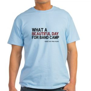 CafePress Band Camp Light T Shirt 100% Cotton T-Shirt (831585808)