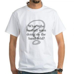 CafePress Band White T Shirt 100% Cotton T-Shirt, White (360360762)