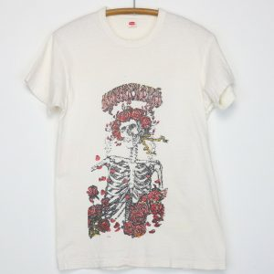 Grateful Dead Shirt Vintage tshirt 1970s Bertha Skeleton Jerry Garcia Rock Band