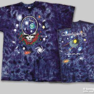 Grateful Dead SunDog Space Your Face Tie Dye T Shirt