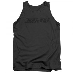 BON JOVI NEW LOGO Licensed Adult Men's Graphic Band Tank Top Sleeveless SM-2XL