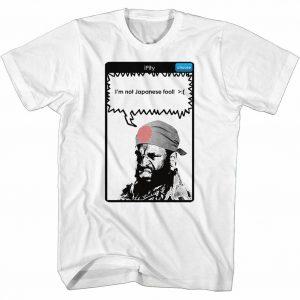 Mr. T iPity White T-Shirt