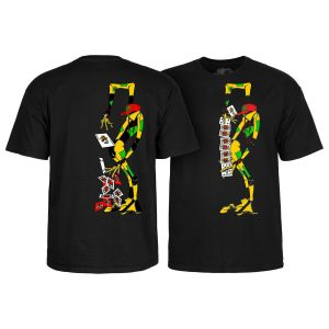 Powell Peralta Skateboard Shirt Ray Barbee Rag Doll Black