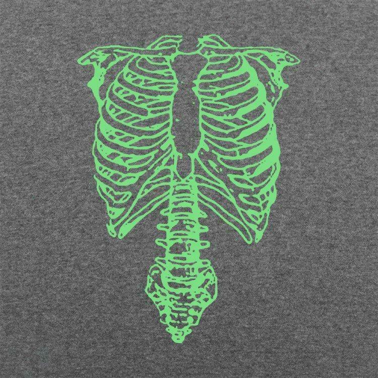 Mens Rocker ParodyTap The Spinal Skeleton T-Shirt