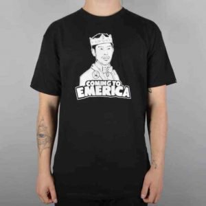 "Emerica Men's S/S T-Shirt ""Coming To Emerica"" - BLK - Small - NWT"
