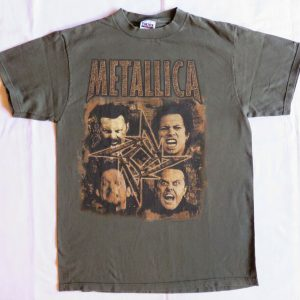 Metallica Vintage T Shirt 1996 1997 Poor Touring Me Dates L Rock Band Concert