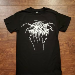 NEW DARK THRONE BLACK METAL T SHIRT
