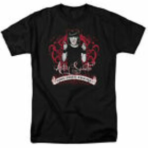 NCIS TV Show Abby Sciuto Goth Crime Fighter Licensed Tee Shirt S-3XL