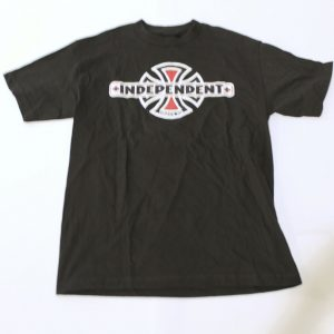 Independent Truck Co. Men's Short Sleeve Logo T-Shirt SV3 Black Medium