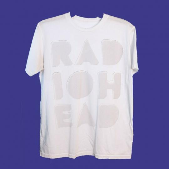 ✅RADIOHEAD Waste T Shirt S Vintage W.A.S.T.E Band Tour Britpop Oasis Gorillaz LP