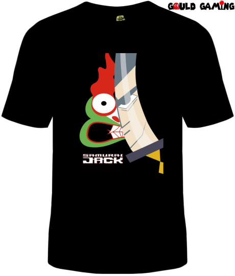 Samurai Jack Aku T-Shirt Unisex Adult Funny Sizes Cotton Cartoon Network TV New