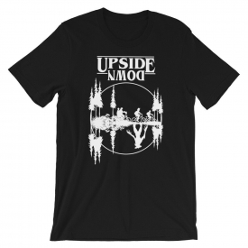 NEW Stranger Things Netflix Series Upside Down Eleven T-Shirt Tee Shirt Black