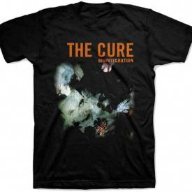 THE CURE Disintegration T SHIRT S-M-L-XL-2XL New Official Bravado Merchandise