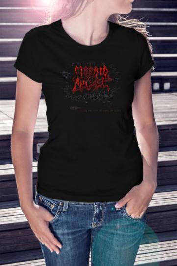 MORBID ANGEL Women T-shirt Death Metal Band Tee Shirt Entombed Deicide Obituary