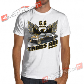 1977 Firebird Trans Am Gray or White T-Shirt Smokey and the Bandit
