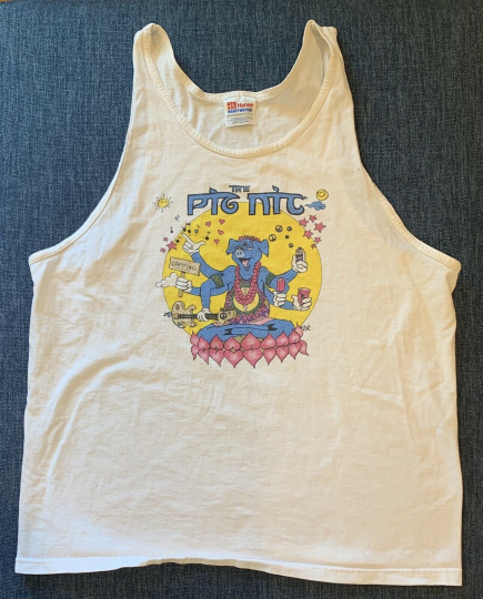 1998 Tank Top T-Shirt Pig Nic Music Festival Bob Weir Ratdog Ozomatli Spearhead