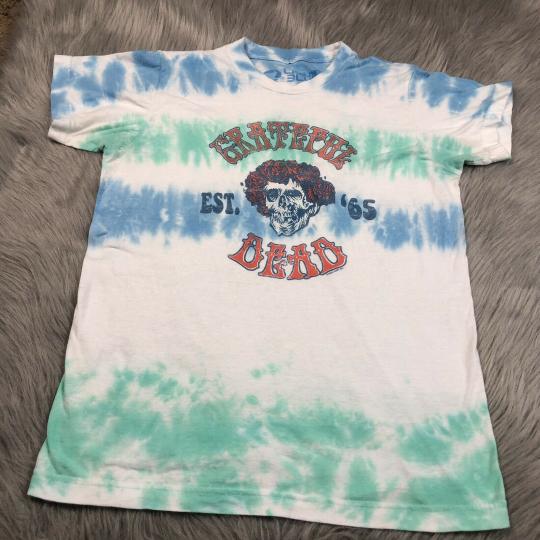 2000 Liquid Blue Tie Dye Grateful Dead T Shirt Small