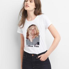 Kurt Cobain | i Miss You | 25th Anniversary Shirt | Nirvana