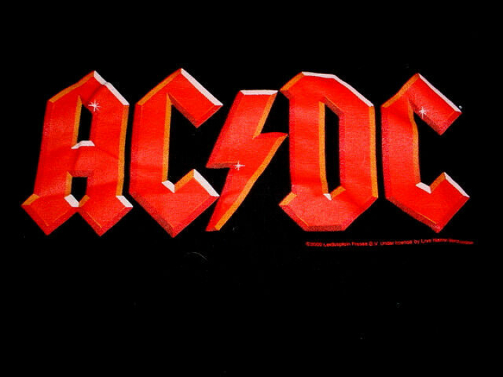 AC DC Band Concert -T Shirt-XL