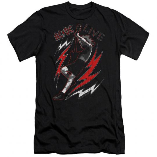 AC/DC Live Premium Adult 30/1 T-Shirt Black