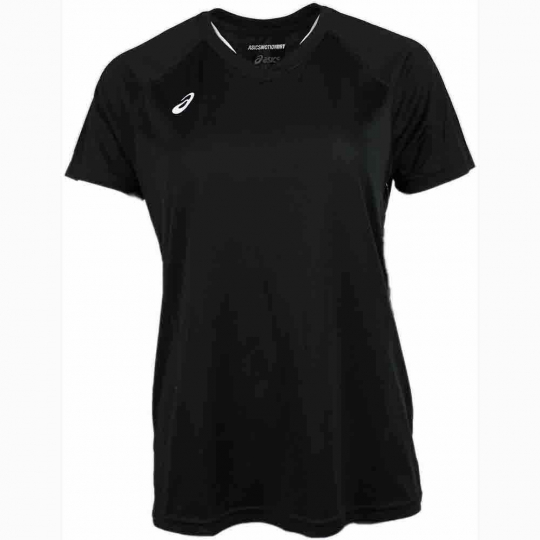 ASICS Circuit 8 Short Sleeve  - Black - Womens