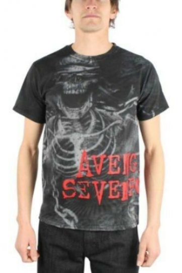 AVENGED SEVENFOLD CHAINS ALLOVER HEAVY METAL MUSIC ROCK BOY BAND SHIRT S-2XL
