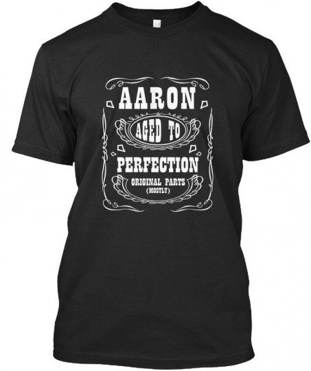 Aaron Aged To Perfection - Original Parts (mostly) Premium Tee T-Shirt