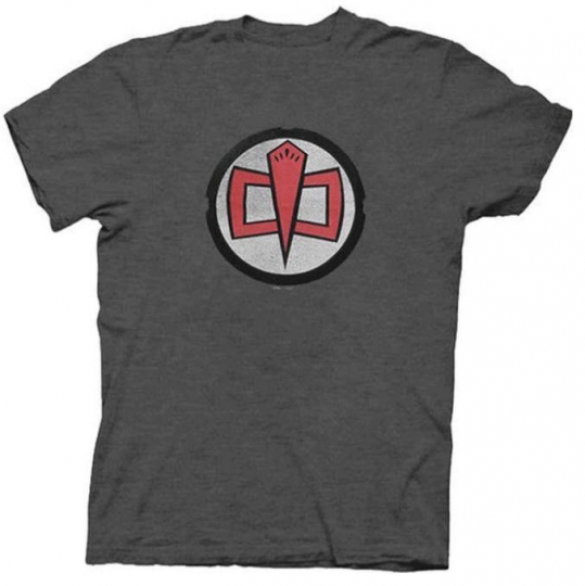 Adult Charcoal Gray Comedy TV Show The Greatest American Hero Logo T-shirt Tee