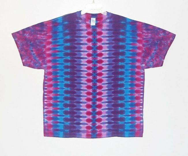 Adult TIE DYE Purple DNA T Shirt hippie 2X 3X 4X gypsy grateful dead tye die art