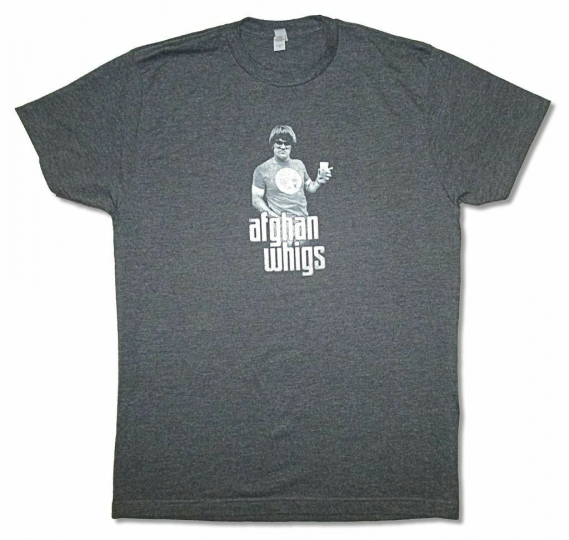 Afghan Whigs Photo Mens Heather Grey T Shirt New Official Adult