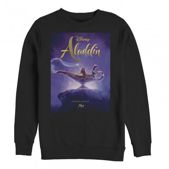 Aladdin Movie Poster Magic Mens Graphic Sweatshirt