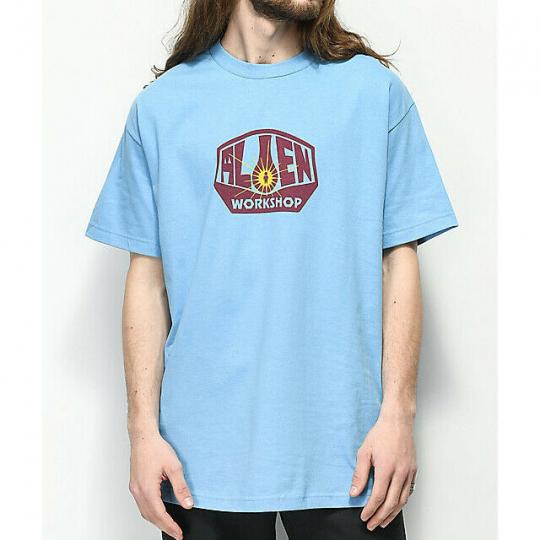 Alien Workshop Logo Skateboard T-Shirt Tee L. Blue NEW 32€ Snow Surf Streetwear