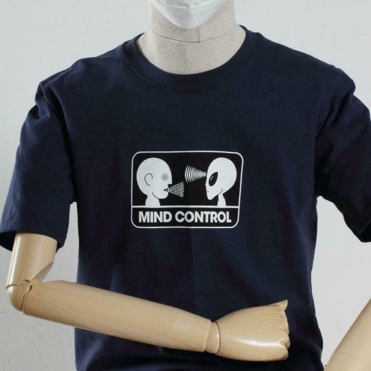 Alien Workshop Skateboards Mind Control Navy Blue T-Shirt