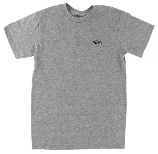 Alien Workshop Skateboards Spectrum Embroidered Logo Grey T-Shirt
