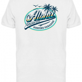 Aloha Surfers Paradise Tee Men's -Image by Shutterstock