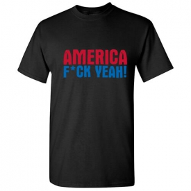 America 4th of July  Offensive Humor Gift Adult Cool Funny Novelty T-Shirts