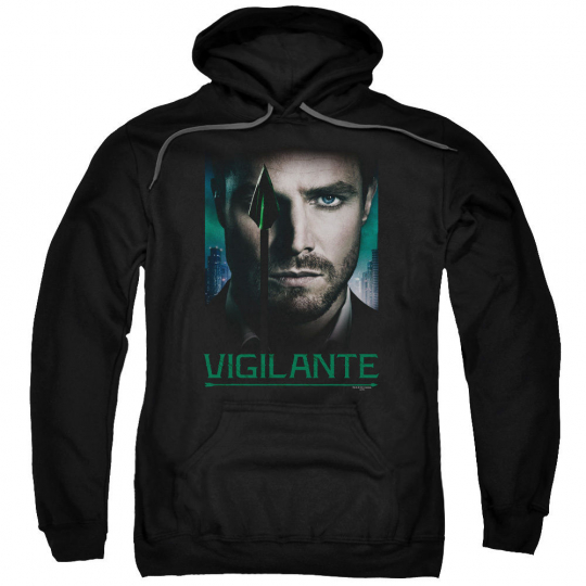 Arrow TV Show GOOD EYE VIGILANTE Green Arrow Licensed Sweatshirt Hoodie