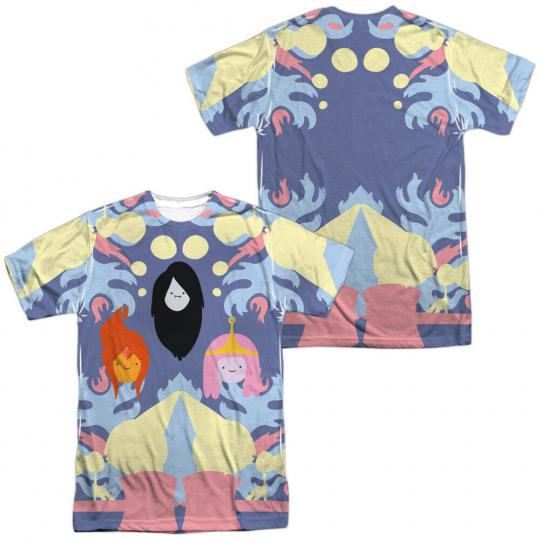 Authentic Adventure Time TV Cartoon Network PB FP Marceline Front Back T-shirt