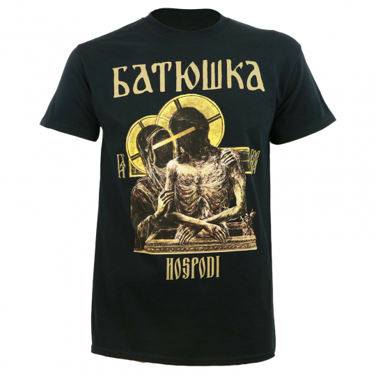 Authentic BATUSHKA Band Hospodi Full Color T-Shirt S M L XL 2XL NEW