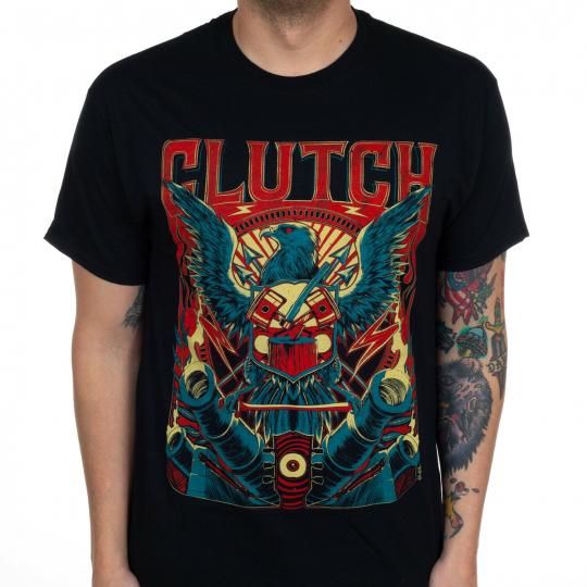 Authentic CLUTCH Band Eagle Eye T-Shirt S M L XL XXL NEW