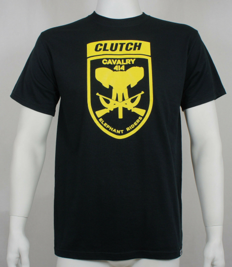 Authentic CLUTCH Band Elephant Riders Logo T-Shirt M NEW